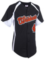 Clutch Full Button Baseball Jersey
